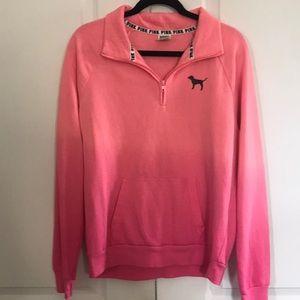 Victoria Secret PINK ombré 1/4 zip